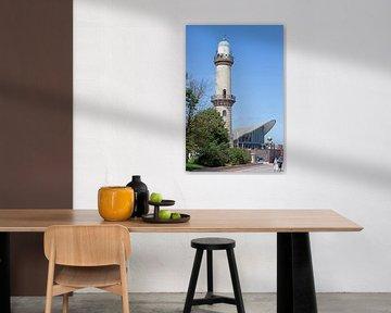 Rostock-Warnemünde: Leuchtturm und Teepott von t.ART