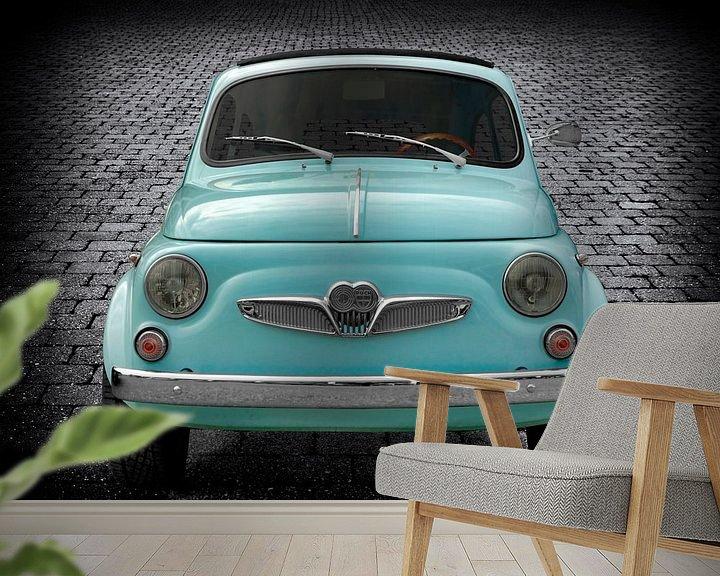 Sfeerimpressie behang: Steyr-Puch 500 van aRi F. Huber