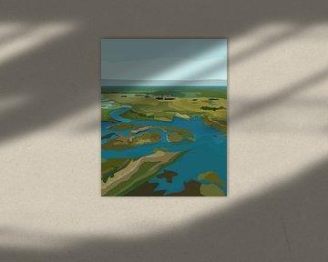 De Moerassen van Everglades National Park (Florida) van Marie-Lise Van Wassenhove