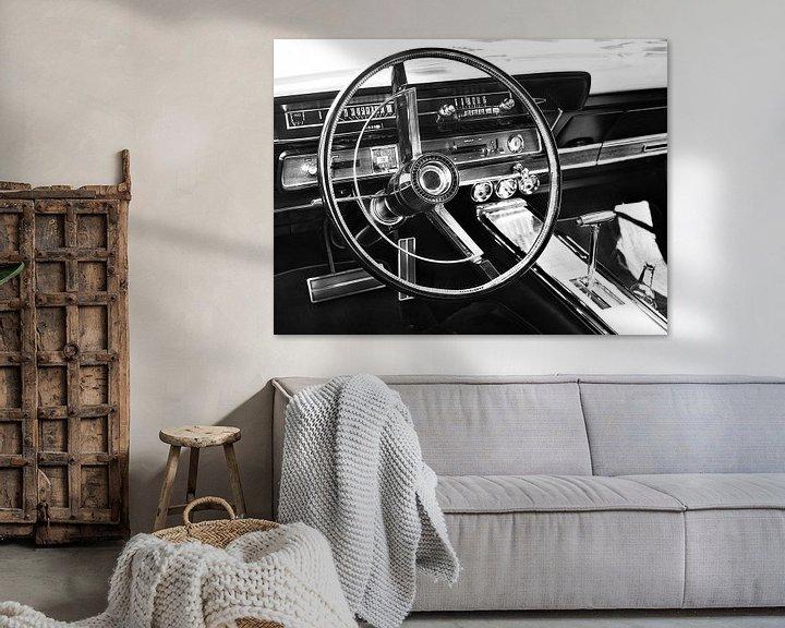 Impression: Voiture classique américaine 1966 Galaxie 500 XL Convertible sur Beate Gube