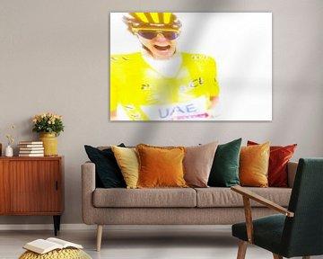 Tadej Pogacar wint de Tour de France 2021 van Studio Koers