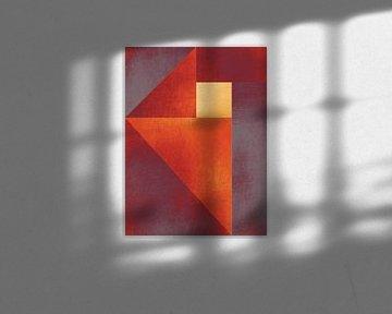 Cube jaune sur Adriano Oliveira