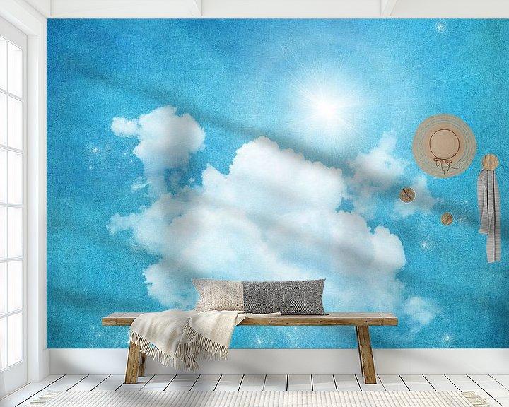 Sfeerimpressie behang: In de Wolken van INA FineArt