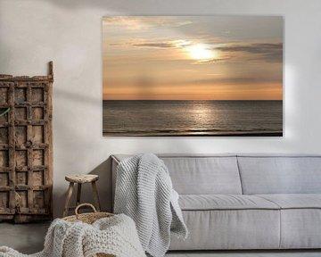 Coucher de soleil sur Ameland sur Annemarie Veldman