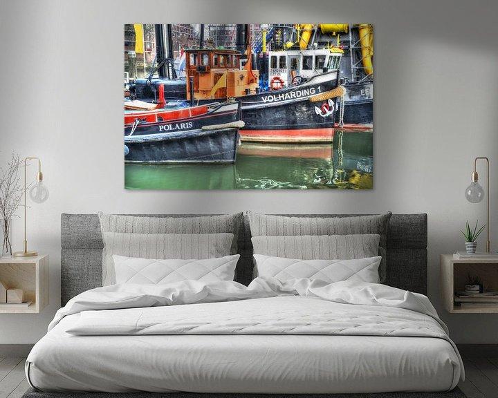 Sfeerimpressie: Leuvehaven, Rotterdam van Fotografie Arthur van Leeuwen