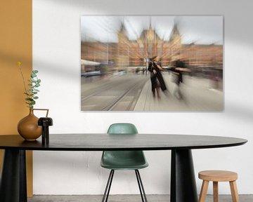 Amsterdam in Bewegung   Zoom Burst von Gabry Zijlstra