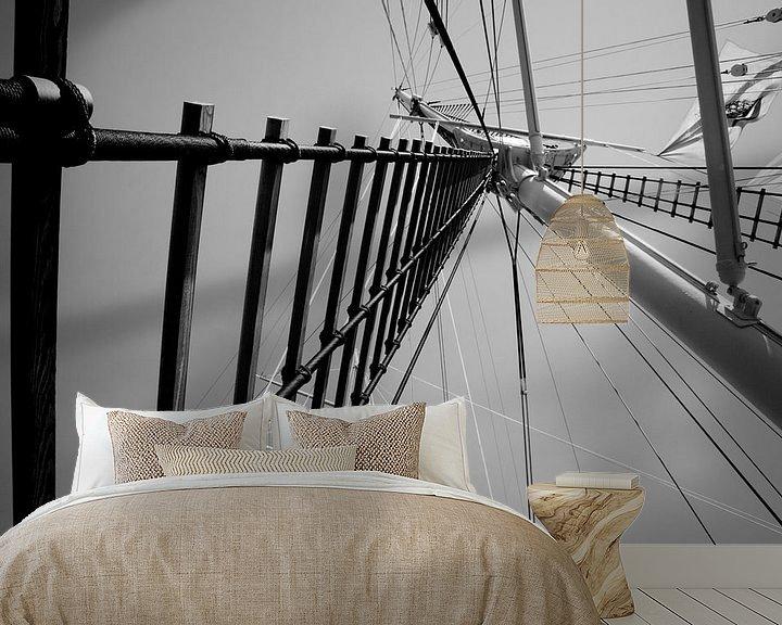 Beispiel fototapete: Schiffsmast von Markus Wegner
