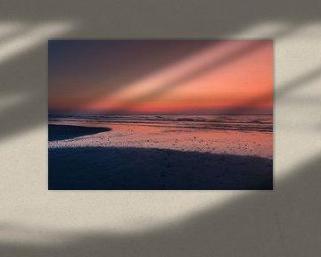 Terschelling zonsondergang van Jacky Keeris
