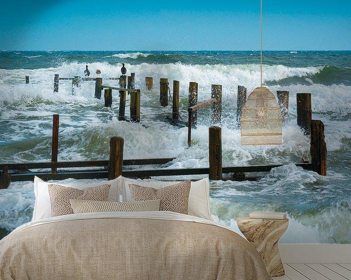 Beispiel fototapete: Wellen an der Ostsee von Martin Wasilewski