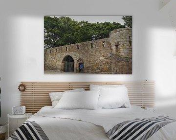 Een van de laatste overgebleven stadspoorten in Schotland, van Babetts Bildergalerie