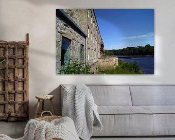 Stanley Mills is een voormalige textielfabriek in het Schotse dorp Stanley. van Babetts Bildergalerie