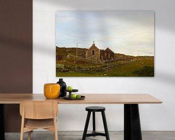 Une église en ruine en Écosse. sur Babetts Bildergalerie