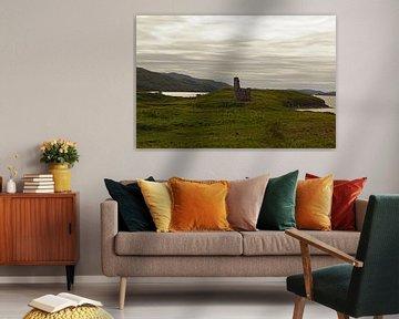Le château d'Ardvreck est un château en ruine situé dans les Highlands écossais. sur Babetts Bildergalerie