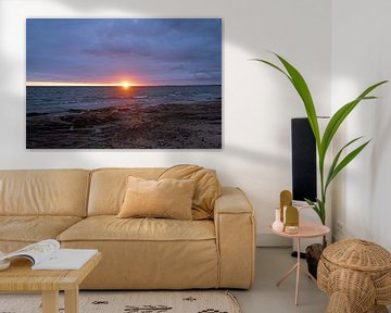 prachtige zonsopgang op het strand van Nairn. van Babetts Bildergalerie