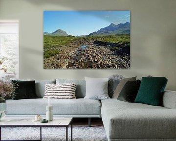 Riverbed Sligachan Écosse, Royaume-Uni sur Babetts Bildergalerie
