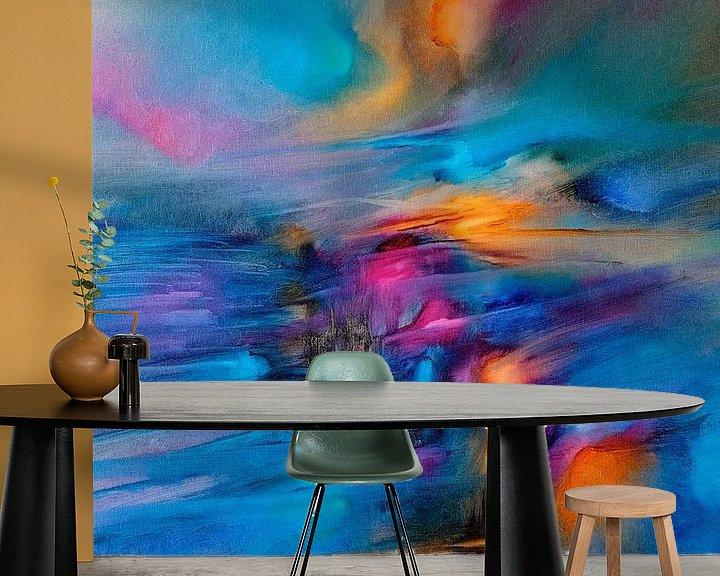 Sfeerimpressie behang: De zon en de wind II van Annette Schmucker