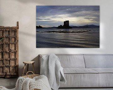 Castle Stalker est une maison-tour située à environ 2,5 kilomètres au nord-est de Port Appin. sur Babetts Bildergalerie