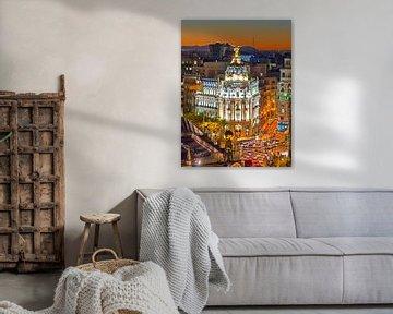 De Metropolis Seguros in Madrid van Bob de Bruin