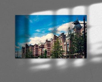 Houses in the sky van Katja • W