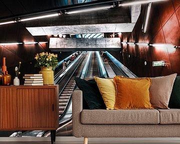 Fővám tér - Boedapest Metro van Fotos by Jan Wehnert