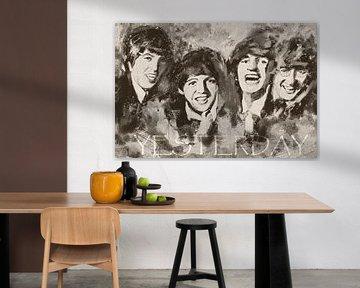 Die Beatles - Gestern - Yesterday von Christine Nöhmeier