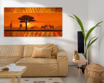 Romantisch und dekoratives Afrika von Monika Jüngling