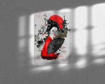 Die Geisha von Lucia