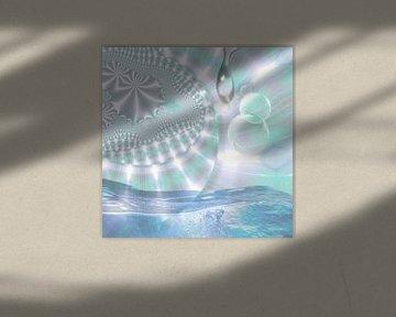 Waterblauw van Nina IoKa