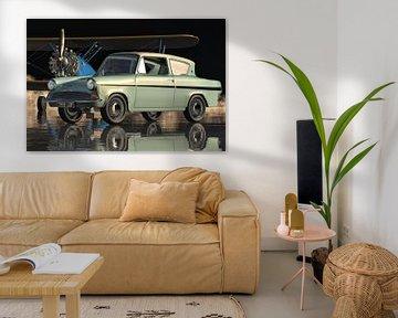 Ford Anglia 123E Deluxe der kleine Familienwagen von 1962