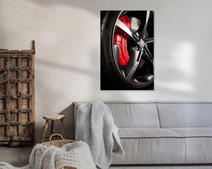 Impression: Roue Ferrari SF90 Stradale sur Thomas Boudewijn
