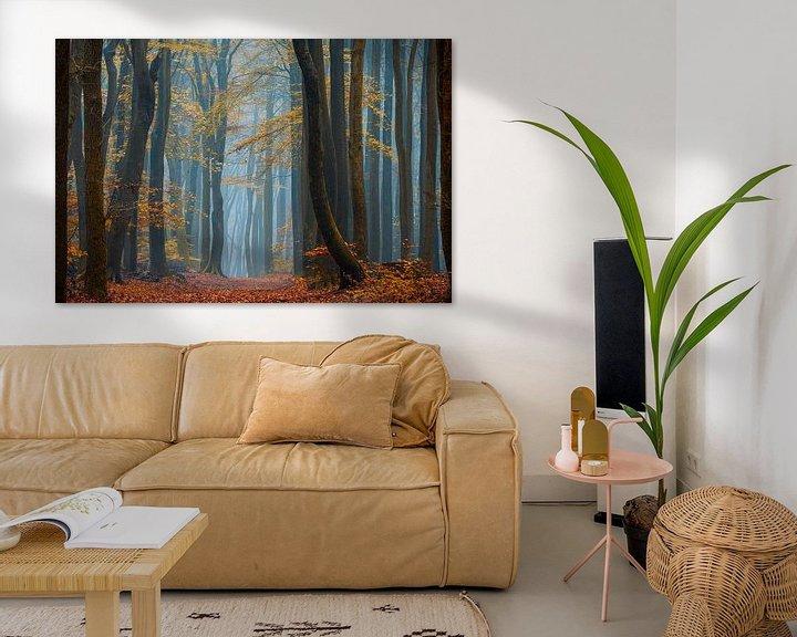 Sfeerimpressie: Blauwe Mist van Lars van de Goor