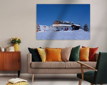 Skilift Avoriaz von Arie-Jan Eelman