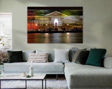 Hermitage met lichtstrepen sur Remco Swiers