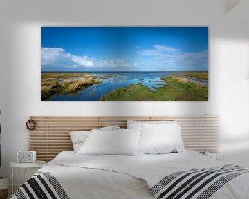 Kwelder in de Waddenzee 1 van Bo Scheeringa Photography