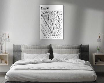 Stadskaart Utrecht van Walljar