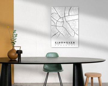 Stadtplan von Eindhoven von Walljar