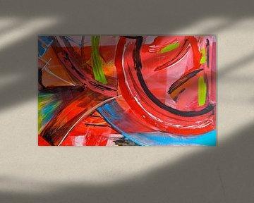 Ibiza abstrakt von Rob van Heertum
