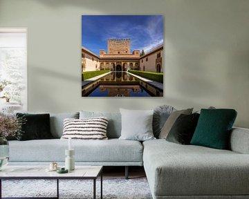 Alhambra de Granada, Patio de los Arrayanes. van Hennnie Keeris