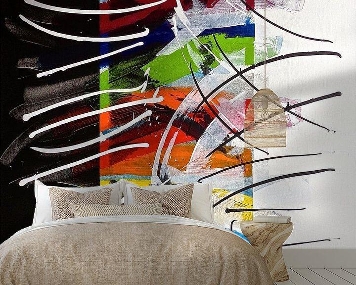 Sfeerimpressie behang: Blend van Rob van Heertum