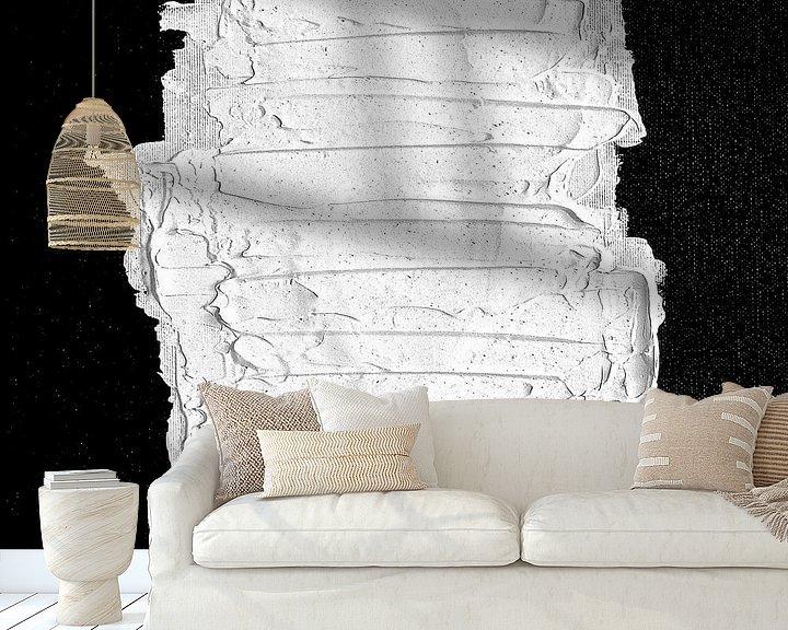 Beispiel fototapete: Schwarz, weiß & weiß (gesehen in vtwonen) von Rob van Heertum