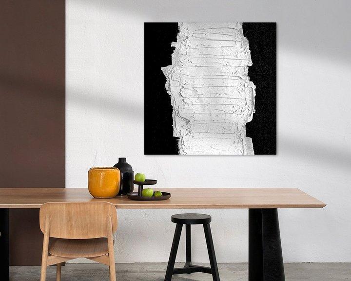 Beispiel: Schwarz, weiß & weiß (gesehen in vtwonen) von Rob van Heertum
