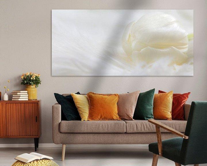 Impression: Tulipe blanche sur Miranda van Hulst
