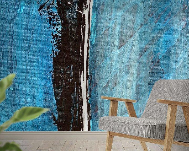 Impression: The Line Abstract sur Rob van Heertum