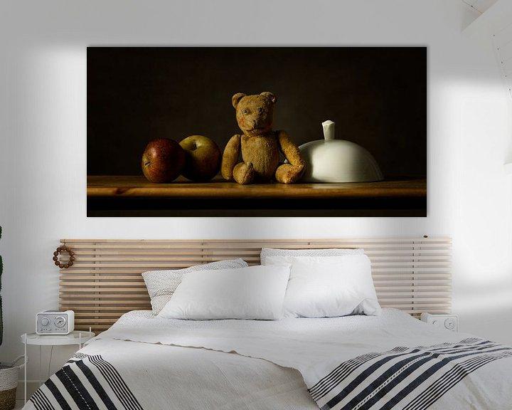 Sfeerimpressie: Stilleven teddybeer van Monique van Velzen