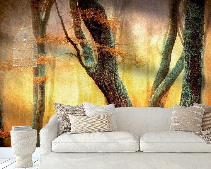 Beispiel fototapete: Die tanzenden Bäume von Lars van de Goor