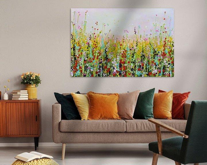 Beispiel: Blumenfeld von Bianca ter Riet
