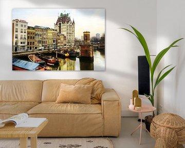 Rotterdam, Das Weiße Haus von Fotografie Arthur van Leeuwen
