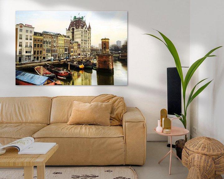 Sfeerimpressie: Witte huis, Rotterdam van Fotografie Arthur van Leeuwen