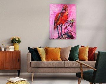 Rode ibis van Liesbeth Serlie