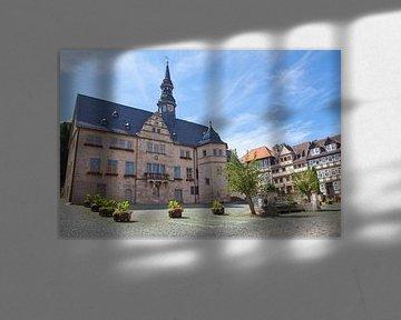 Stadhuis in Blankenburg (Harz) van t.ART